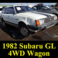 Junkyard 1982 Subaru GL 4WD Wagon