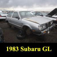 Junkyard 1983 Subaru GL