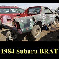Junkyard 1984 Subaru BRAT