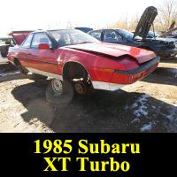 Junkyard 1985 Subaru XT Turbo