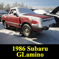 Junkyard 1986 Subaru Sawzall BRAT