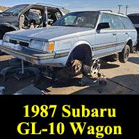 Junkyard 1987 Subaru GL10 Wagon