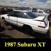 Junkyard 1987 Subaru XT GL