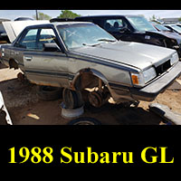 Junkyard 1988 Subaru GL 4WD