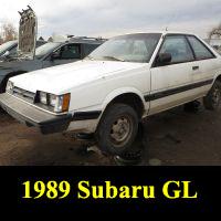 Junkyard 1989 Subaru GL Coupe