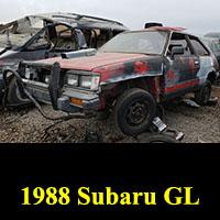 Junkyard 1988 Subaru GL
