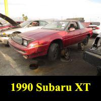 Junkyard 1990 Subaru XT