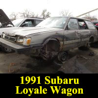 Junkyard 1991 Subaru Loyale Wagon