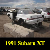 Junkyard 1991 Subaru XT