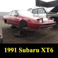 Junkyard 1991 Subaru XT6