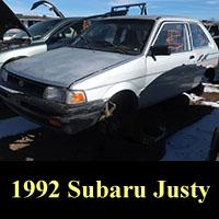 Junkyard 1992 Subaru Justy