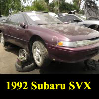 Junkyard 1992 Subaru SVX