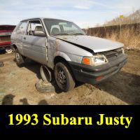 Junkyard 1993 Subaru Justy