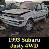 1993 Subaru Justy 4WD