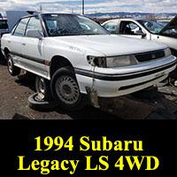 Junkyard 1994 Subaru Legacy Sedan