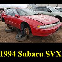 Junkyard 1994 Subaru SVX