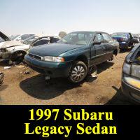 Junkyard 1997 Subaru Legacy Sedan