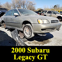 Junkyard 2000 Subaru Legacy GT Sedan