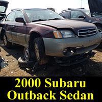 Junkyard 2000 Subaru Outback Sedan