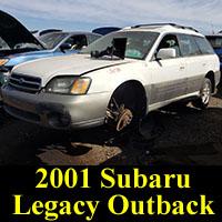 Junkyard 2001 Subaru Legacy Outback
