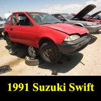 Junkyard 1991 Suzuki Swift