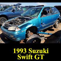 Junkyard 1993 Suzuki Swift GT
