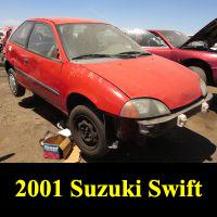 Junkyard 2001 Suzuki Swift