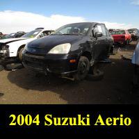 Junkyard 2004 Suzuki Aerio