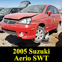 2005 Suzuki Aerio SWT