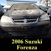 Junkyard 2006 Suzuki Forenza