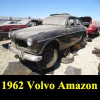 Junkyard 1962 Volvo 122S