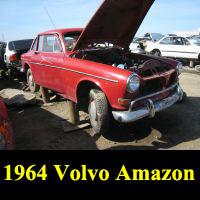 Junkyard 1964 Volvo 122S