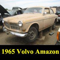 Junkyard 1965 Volvo 122S