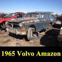 Junkyard 1965 Volvo 122S Wagon