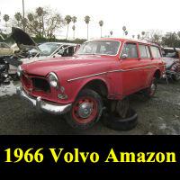 Junkyard 1966 Volvo 122S Wagon