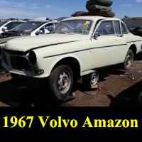 Junkyard 1967 Volvo 122S