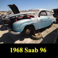 Junkyard 1968 Saab 96
