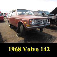 Junkyard 1968 Volvo 142