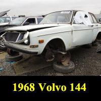 Junkyard 1968 Volvo 144