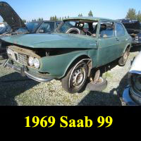 Junkyard 1969 Saab 99