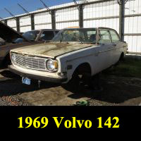 Junkyard 1969 Volvo 142 S