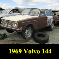 Junkyard 1969 Volvo 140