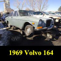 Junkyard 1969 Volvo 164
