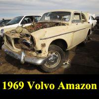 Junkyard 1969 Volvo 122S