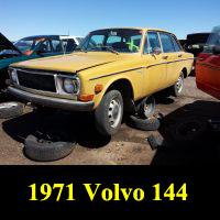 Junkyard 1971 Volvo 140