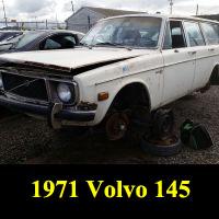 Junkyard 1971 Volvo 145