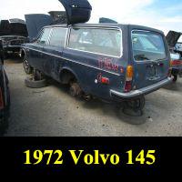 Junkyard 1972 Volvo 140 Station Wagon