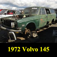Junkyard 1972 Volvo 145