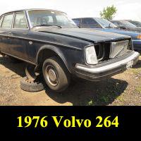 Junkyard 1976 Volvo 264 GL