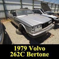 Junkyard 1979 Volvo 262C Bertone Coupe